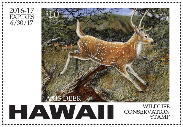 Hawaii Conservation Stamp