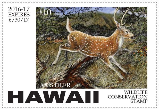 Hawaii Conservation Stamp